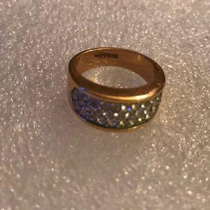 Vintage  diamond 18kGERSC ring